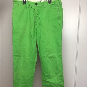 Abercrombie Lime Green Pants